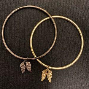 Victoria secret bracelet set w angel wings💕